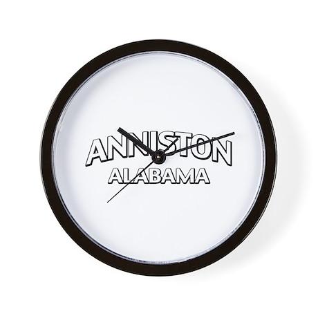 Anniston Alabama Wall Clock