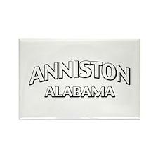 Anniston Alabama Rectangle Magnet
