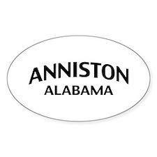 Anniston Alabama Decal