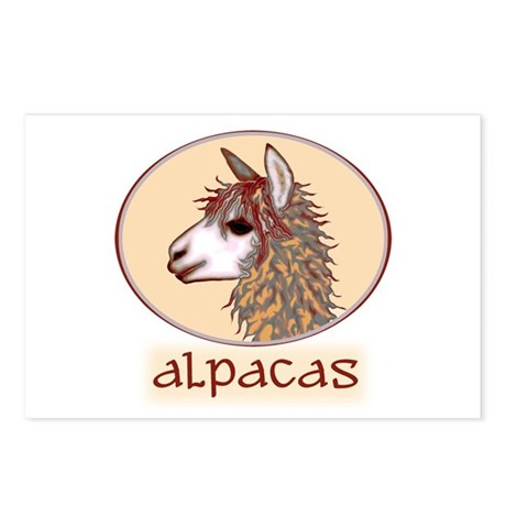 alpaca annie's Postcards (Package of 8)