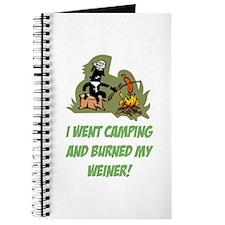 Burned My Weiner! Journal