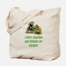 Burned My Weiner! Tote Bag