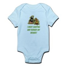 Burned My Weiner! Infant Bodysuit