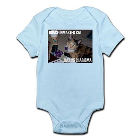 Dungeonmaster Cat Infant Bodysuit