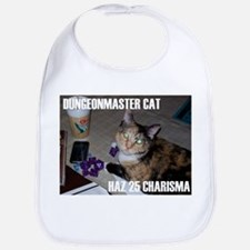 Dungeonmaster Cat Bib