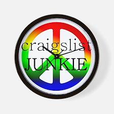craigslist JUNKIE Wall Clock