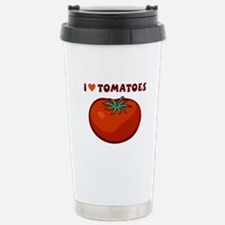 I Love Tomatoes Stainless Steel Travel Mug