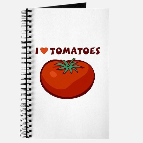 I Love Tomatoes Journal
