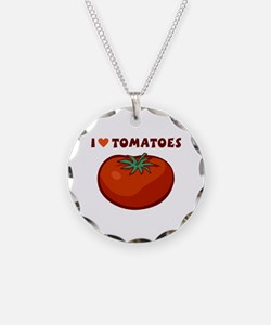I Love Tomatoes Necklace