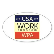 WPA Logo Decal