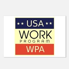 WPA Logo Postcards (Package of 8)