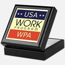 WPA Logo Keepsake Box