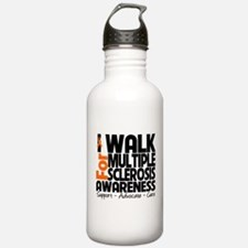 I Walk Multiple Sclerosis Sports Water Bottle