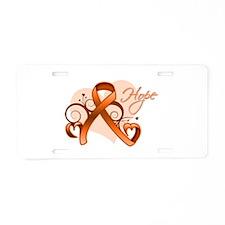 Hope Multiple Sclerosis Aluminum License Plate