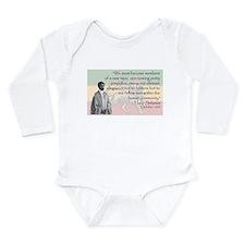 Haile Selassie Long Sleeve Infant Bodysuit