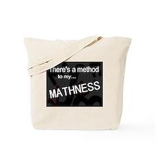 Cute Math is cool Tote Bag
