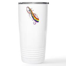 Mixed color musical notes 2 Travel Mug