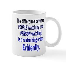 Restraining Order Mug