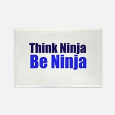 Think Ninja Rectangle Magnet (10 pack)
