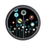 FLORAL DECOR Wall Clock