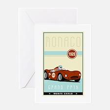 Monaco Greeting Card