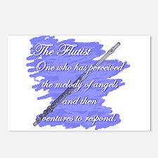 Flutist Verse Postcards (Package of 8)