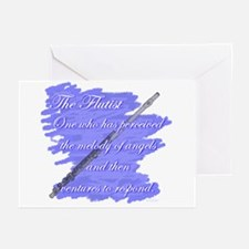 Flutist Verse Greeting Cards (Pk of 10)