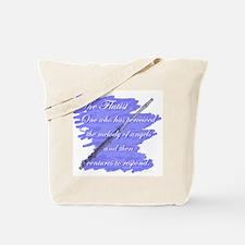 Flutist Verse Tote Bag
