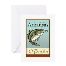 Travel Arkansas Greeting Card