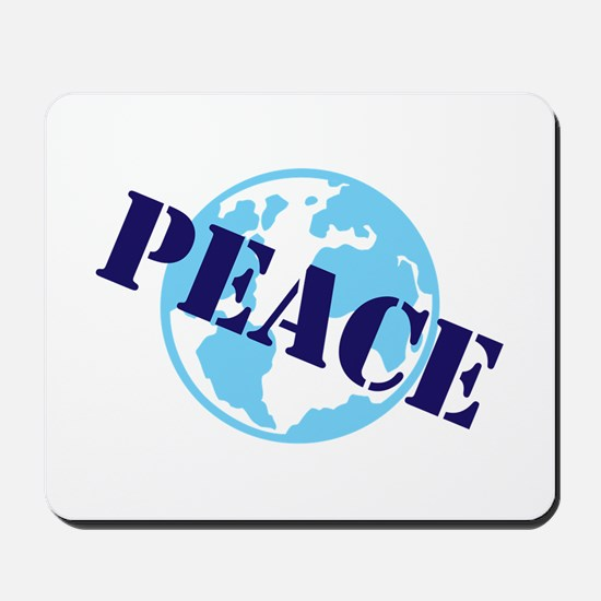 Peace on Earth Mousepad