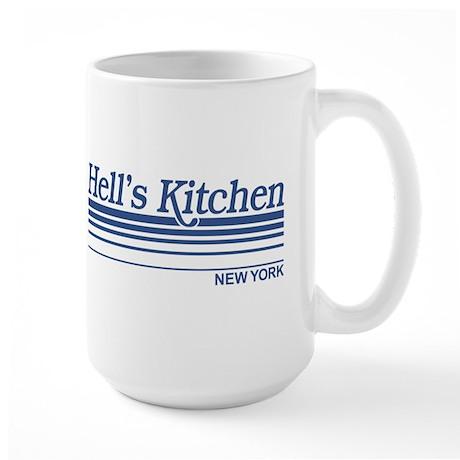 Hell's Kitchen New York Large Mug