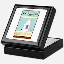 Travel Delaware Keepsake Box