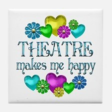 Theatre Happiness Tile Coaster