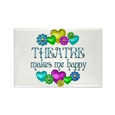Theatre Happiness Rectangle Magnet (10 pack)