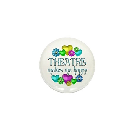 Theatre Happiness Mini Button (10 pack)