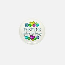 Theatre Happiness Mini Button (10 pack)