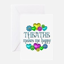 Theatre Happiness Greeting Card