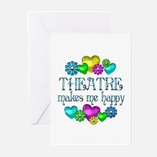 Theatre Happiness Greeting Cards (Pk of 20)