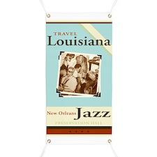 Travel Louisiana - Jazz Banner
