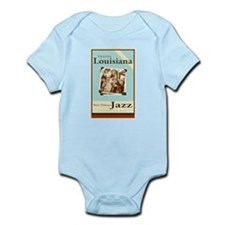 Travel Louisiana - Jazz Infant Bodysuit