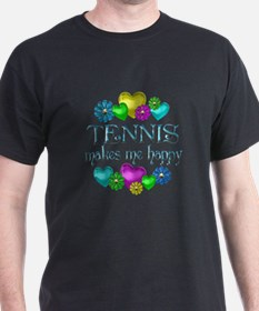 Tennis Happiness T-Shirt