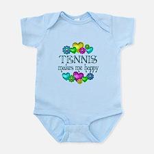Tennis Happiness Infant Bodysuit