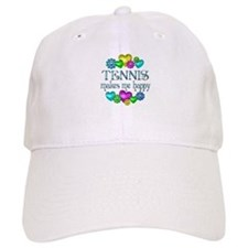 Tennis Happiness Baseball Cap