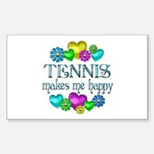 Tennis Happiness Decal