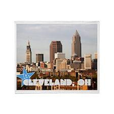 Cute Cleveland Throw Blanket