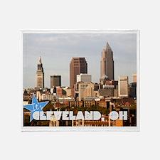 Unique Cleveland Throw Blanket