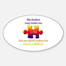 1 in Million (Self w Autism) Decal