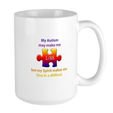 1 in Million (Self w Autism) Mug