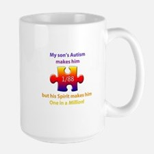 1 in Million (Son w Autism) Mug