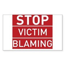 Stop Victim Blaming Decal
